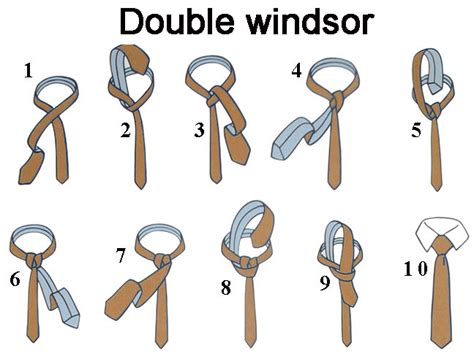 who to tie a windsor knot