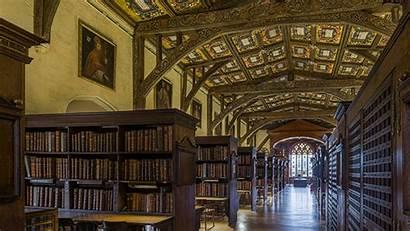 Library Hogwarts Bodleian Oxford Interior Virtual Tour