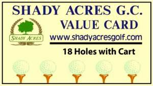 Shady Acres Golf Course in Mccomb, Ohio ...