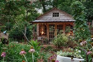 Gartenhaus Innen Streichen : jenny 39 s garden shed shabby chic style gartenhaus austin von living vintage ~ Markanthonyermac.com Haus und Dekorationen