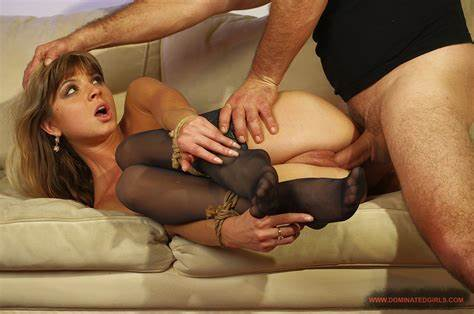 Dominated Doris Ivy Having Her Anal Nailed