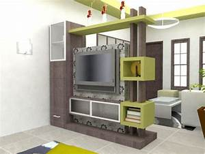 modern tv cabinet wall units furniture designs ideas for With kitchen cabinets lowes with papier peint trompe l oeil 3d