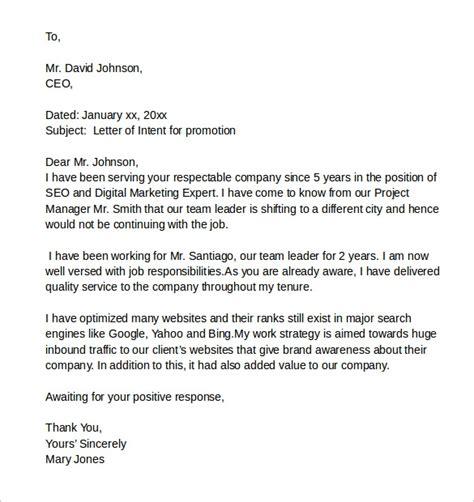sample letter  intent   job   documents