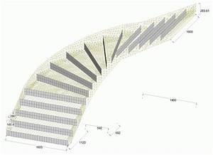Calcul d'un escalier balancé largeur 1 60m EHI Escalier Hélicoïdal Industriel