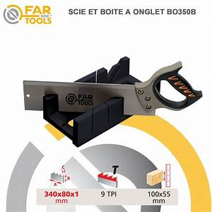 Scie boite coupe d'onglet BO350 113400 Fartools