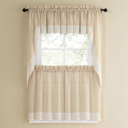 country style curtains for kitchens vanilla country style kitchen curtains with white 8472