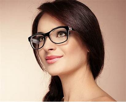 Glasses Woman Wallpapers Attractive Jooinn Found Background