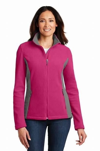 Authority Port Jacket Fleece L216 Ladies Colorblock