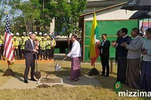Ground breaking ceremony held for U.S. embassy's liaison ...