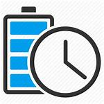 Charging Icon Battery Charge Power Energy Clock