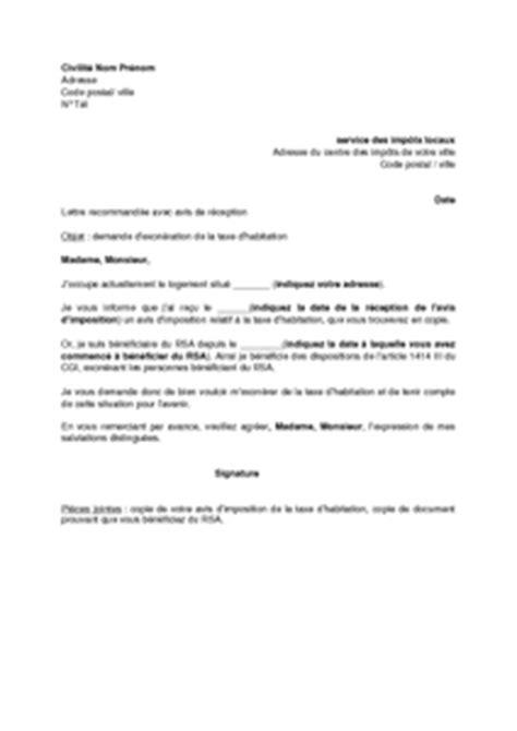 robes mariage lettre d exoneration taxe d habitation