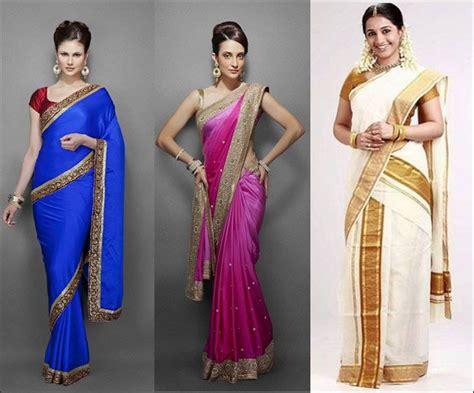 Traditional Saree Draping Styles - how many ways can you drape a saree traditional saree