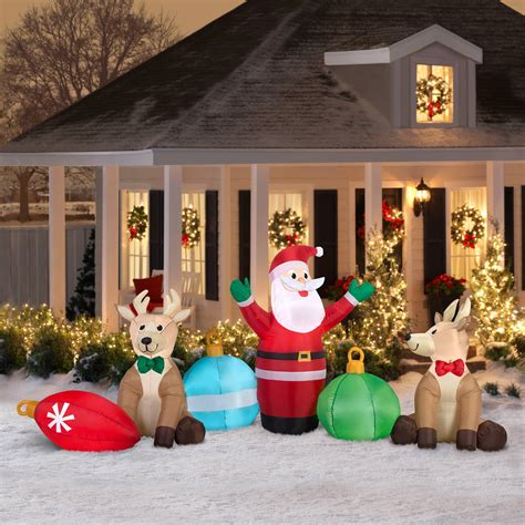 inflatable christmas decorations outdoor cheap cheap yard decorations psoriasisguru