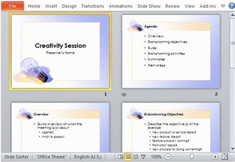 brainstorming  template  powerpoint