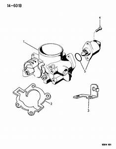 Chrysler Sebring Throttle Body  Wout  Ecf
