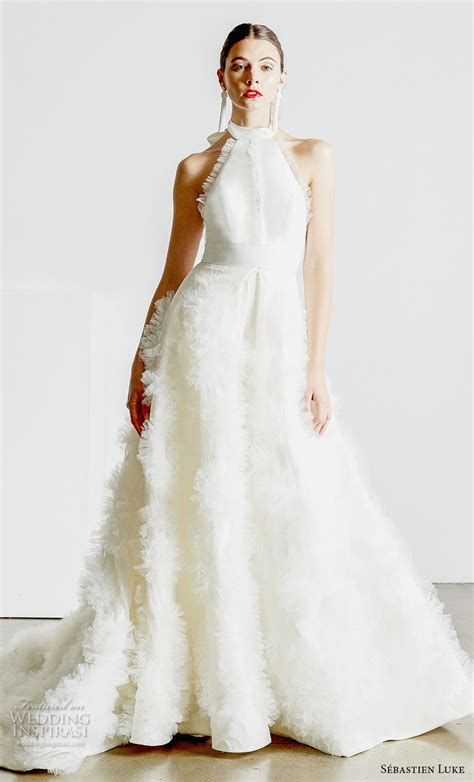 sebastien luke spring  wedding dresses wedding inspirasi