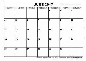 june 2017 calendar printable template holidays pdf With calander templates