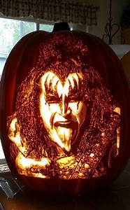 Daily Weekly Schedule Gene Simmons From Celebrity Pumpkin Carvings E News