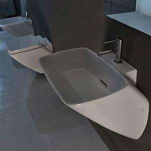 Waschbecken Mit Ablaufschlitz : axa wandmontiertes waschbecken serie 138 design romano adolini ~ Sanjose-hotels-ca.com Haus und Dekorationen
