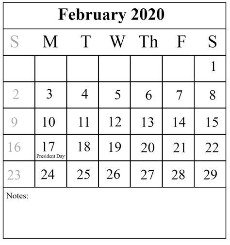 printable february calendar pdfexcel word printable