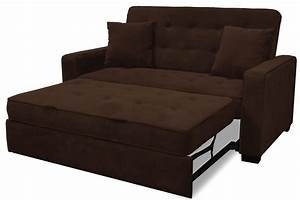 Upholstered modern space saving futon sofa bed queen for Sofa bed extension