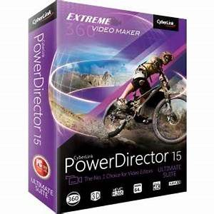 CyberLink PowerDirector Ultimate 15 Crack With Serial Key