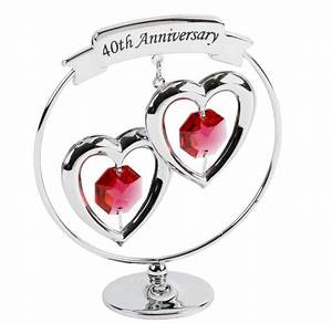 Wedding anniversary gifts 40th wedding anniversary gifts for Gift for 40th wedding anniversary