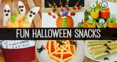 classroom snacks 371 | healthy halloween snack slider