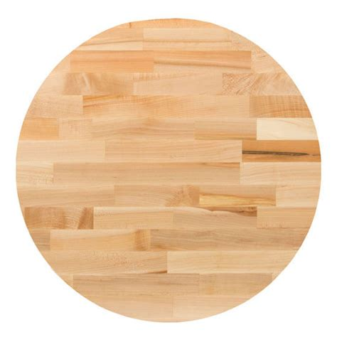 round butcher block table top table tops hard maple blended butcher block table top