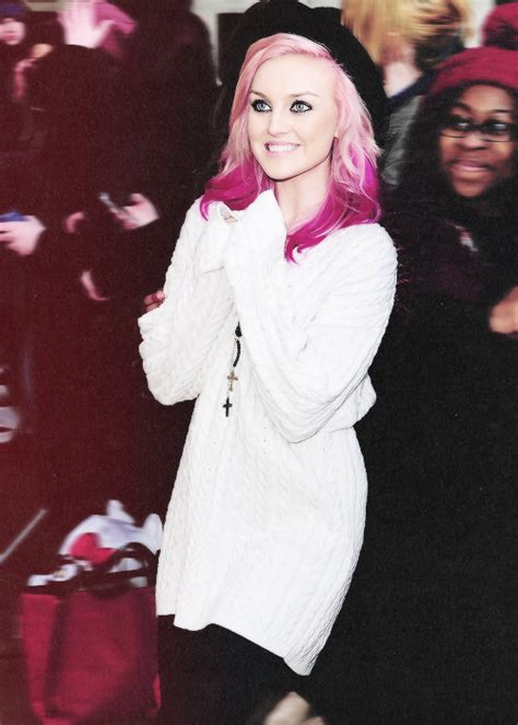 Perrie Edwards Pink Hair Tumblr