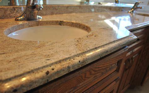 granite and quartz edges for bathrooms kitchens and