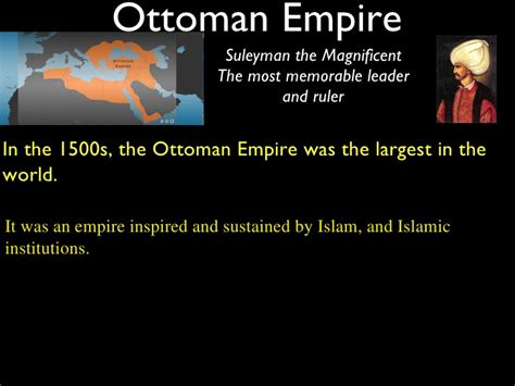 Ottoman Empire 1500s by World In 1500 Ottoman