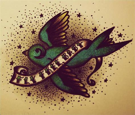 sparrow   captain time tattoos tattoo designs baby sparrow