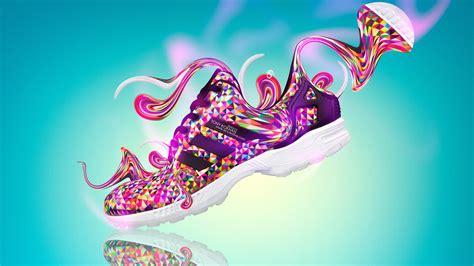 tony kokhan adidas shoes fantasy plastic multicolors side