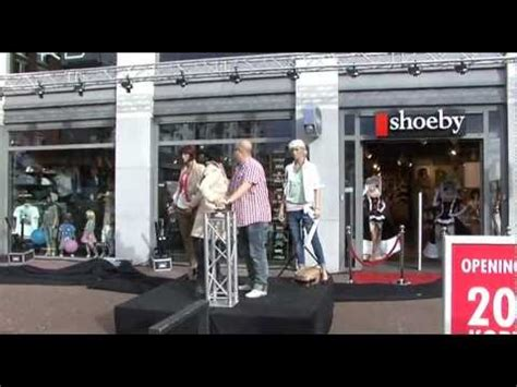 shoeby papendrecht opening april  youtube