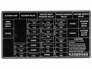 Vx Acclaim Series 2 Fuse  Relay Diagram