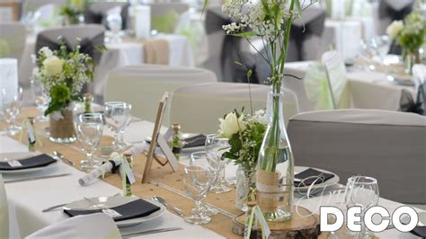decoration table mariage theme champetre