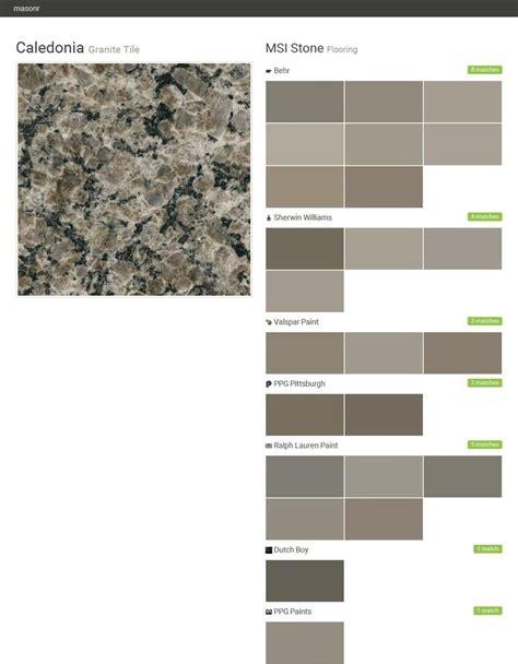 caledonia granite tile flooring msi behr