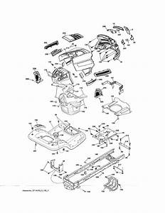 Husqvarna Model Yth18542  960430172  Lawn  Tractor Genuine