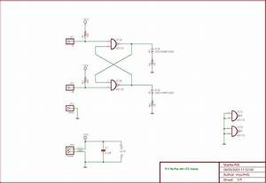 Toggle Flip Flop Schematic