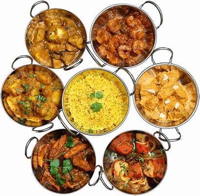 Indian Restaurant Cuisine Dish Away Take Poppadoms