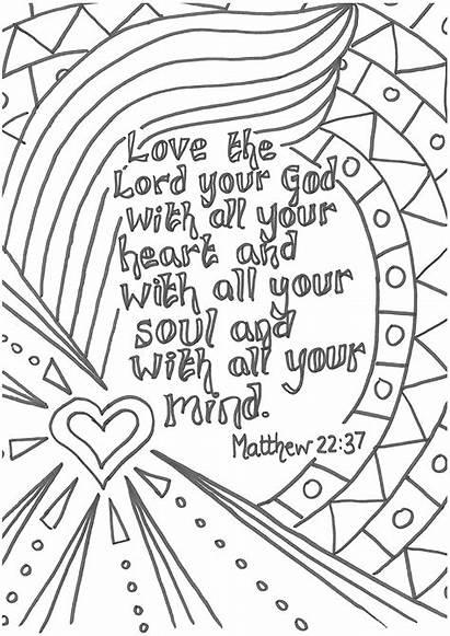Coloring Pages Sermon Prayers Colour Theology