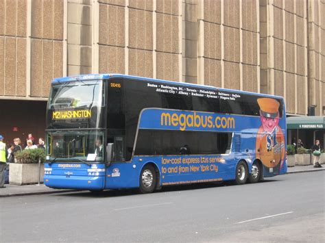 Megabus Bathroom Decker by Megabus America