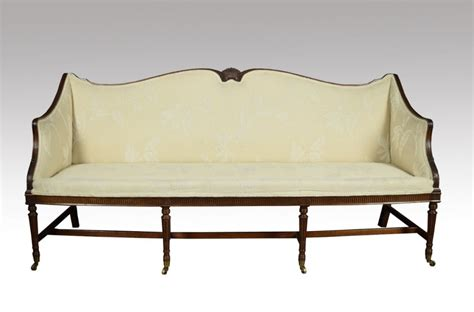 Three Seater Settees by Regency Style Mahogany Three Seater Settee 528210