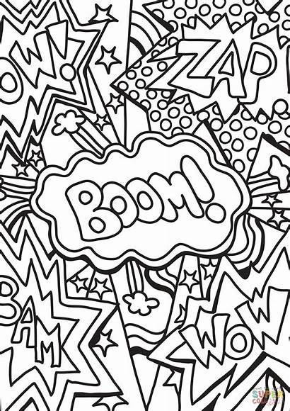 Coloring Pages Wow Boom Zap Pop Printable