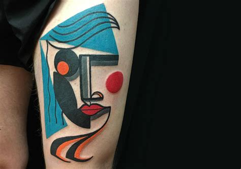 By Tattoo Designs modern picasso  cubist tattoos  mike boyd scene 1500 x 1052 · jpeg