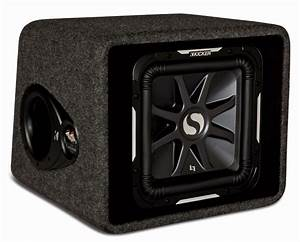 Kicker Car Stereo Single L7 12 U0026quot  Vs12l7 Loaded Vented Sub