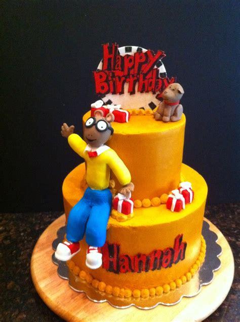 arthur cake cakecentralcom