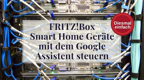 fritzbox smart home geraete mit dem google assistent