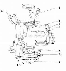 Mr  Coffee Esx11 Parts List And Diagram